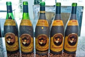 vino, botellas de vino, tamaño botellas vino, botellas Faustino V