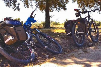 Bicicleta y vino, ribera del Duero