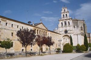 bicicleta y vino, monasterio Santa Maria de la Vid, Burgos
