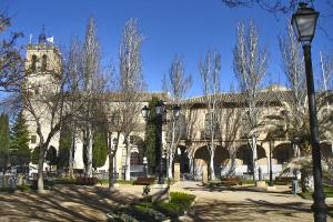 Quintanar de la Orden, iglesia parroquial de Santiago de la Espada