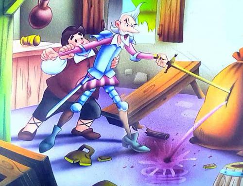 Cervantes, Don Quijote y un cuartillo de vino