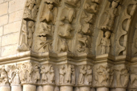 Románico en Alava, iglesia, Tuesta
