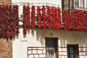 Pueblos y verdura, Lodosa, pimientos