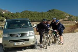 Bosques Navarros, otoño, cicloturismo