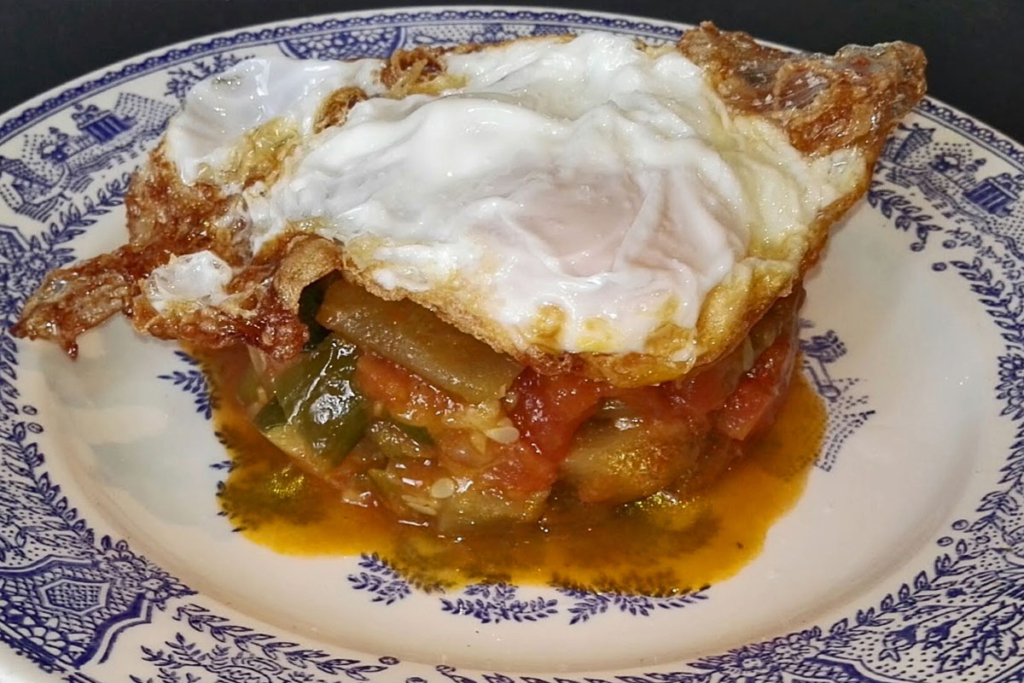 Gastronomía Manchega, Pisto