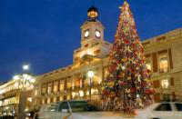 Vinos en Puerta del Sol, Puerta del Sol, Navidad