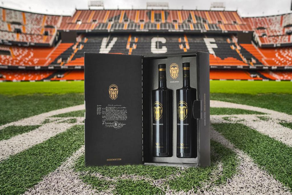 Futbol y vino, Bodega Vicente Gandía y Valencia C.F.