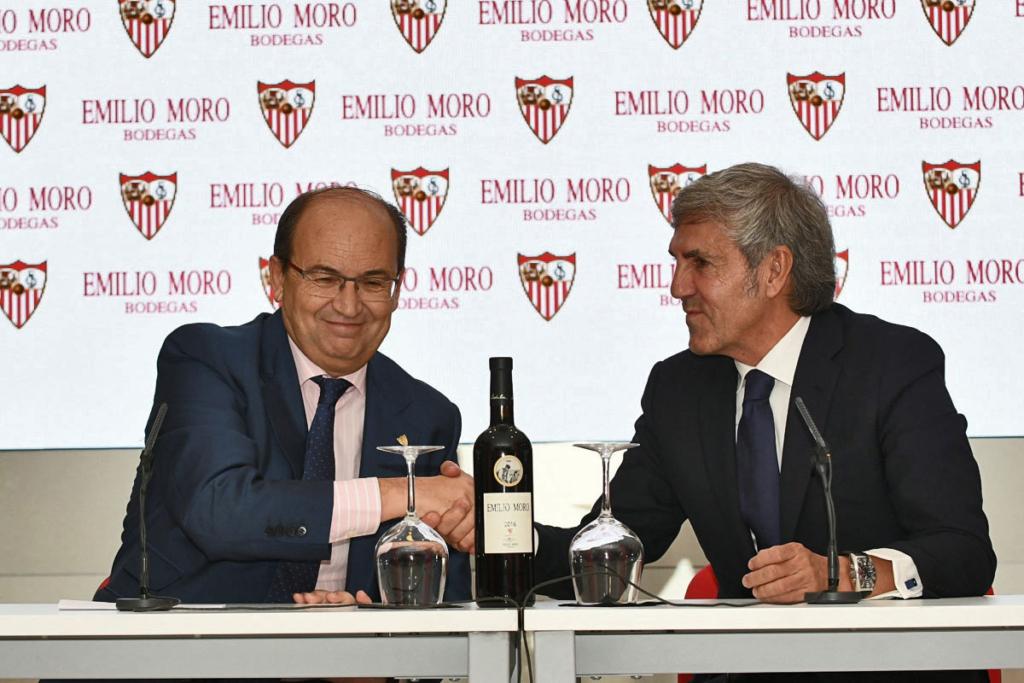 Futbol y vino, Bodega Emilio Moro y Sevilla C.F.