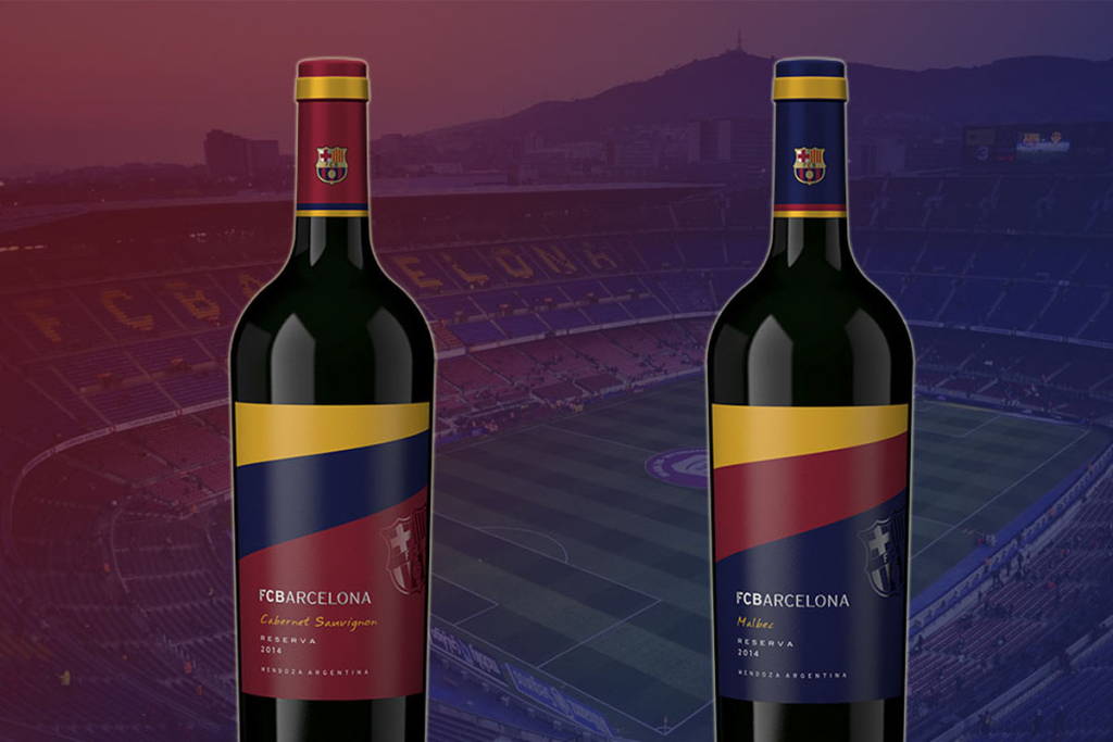 Futbol y vino, Estancia Mendoza y F.C. Barcelona