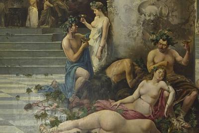 Vino, pinceles y cultura en el Museo del Prado, Las fiestas de Baco, Manuel Picolo López