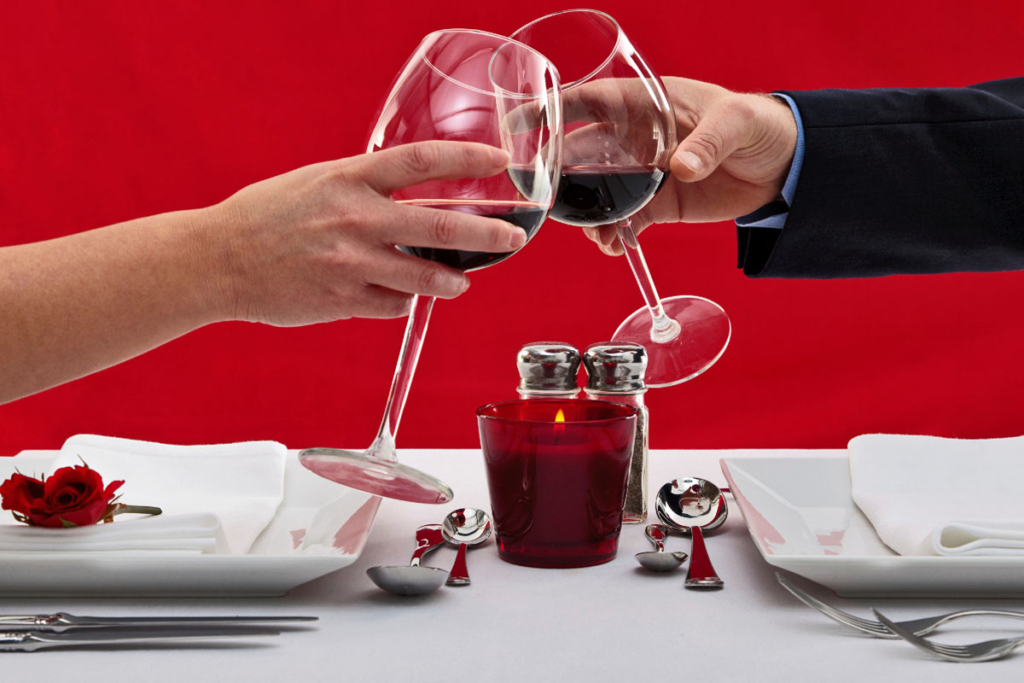 San Valentin, vinos