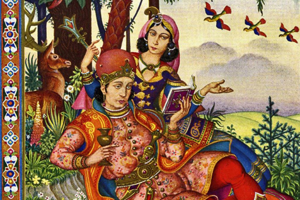 Vino, primavera y pasión, Omar Khayyam