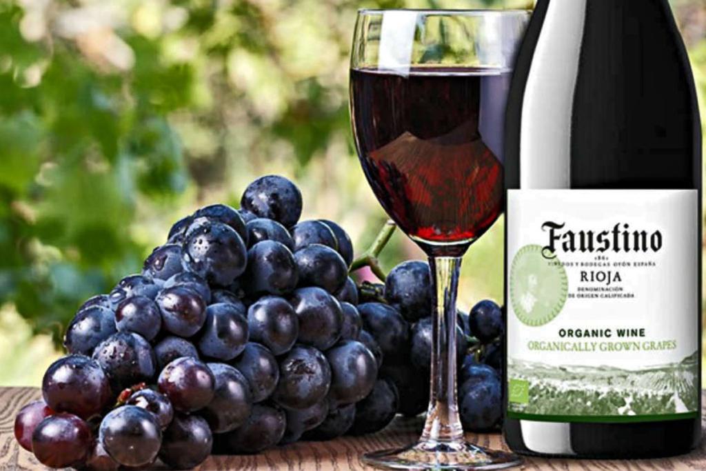 Sostenibilidad en producción vinícola, Vino orgánico Faustino
