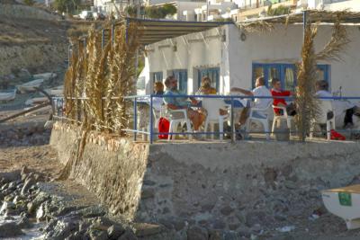 De vinos por Almería, chiringuito