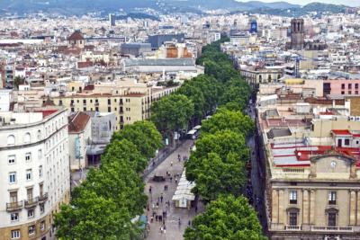 De vinos por Barcelona, barrio 08021, Ramblas