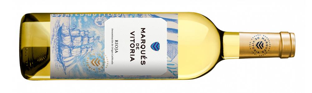 Tres vinos para la playa, Marques de Vitoria Blanco