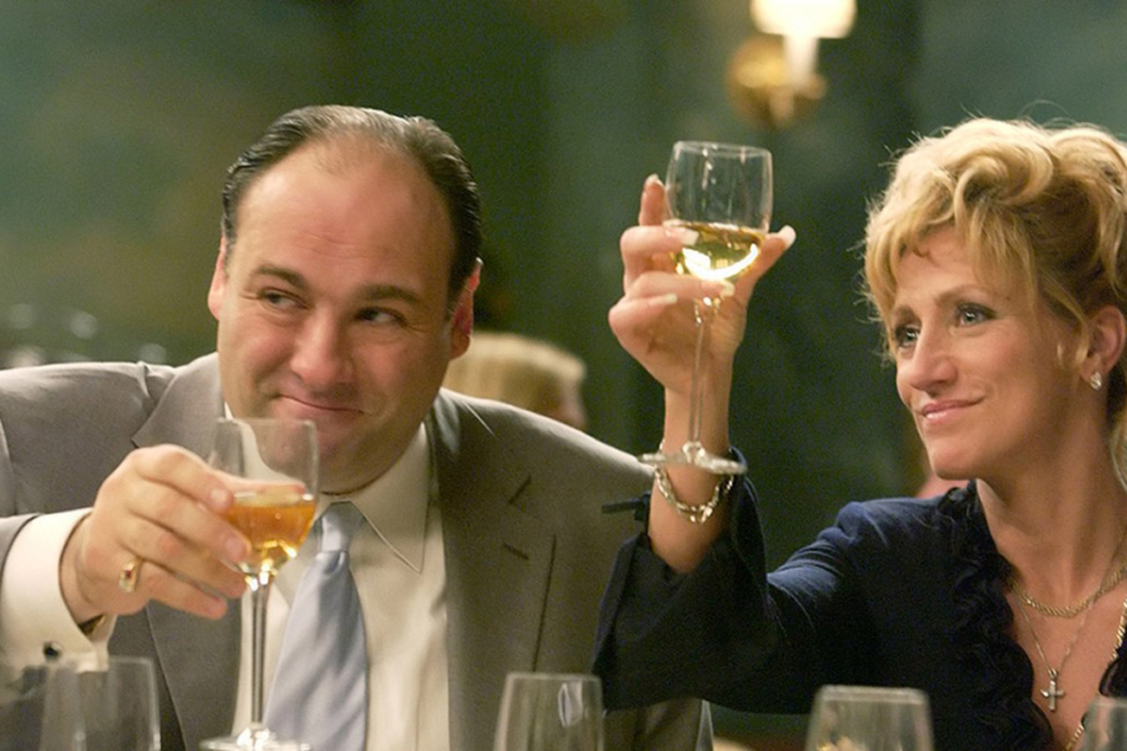 Las series y el vino, Los Soprano
