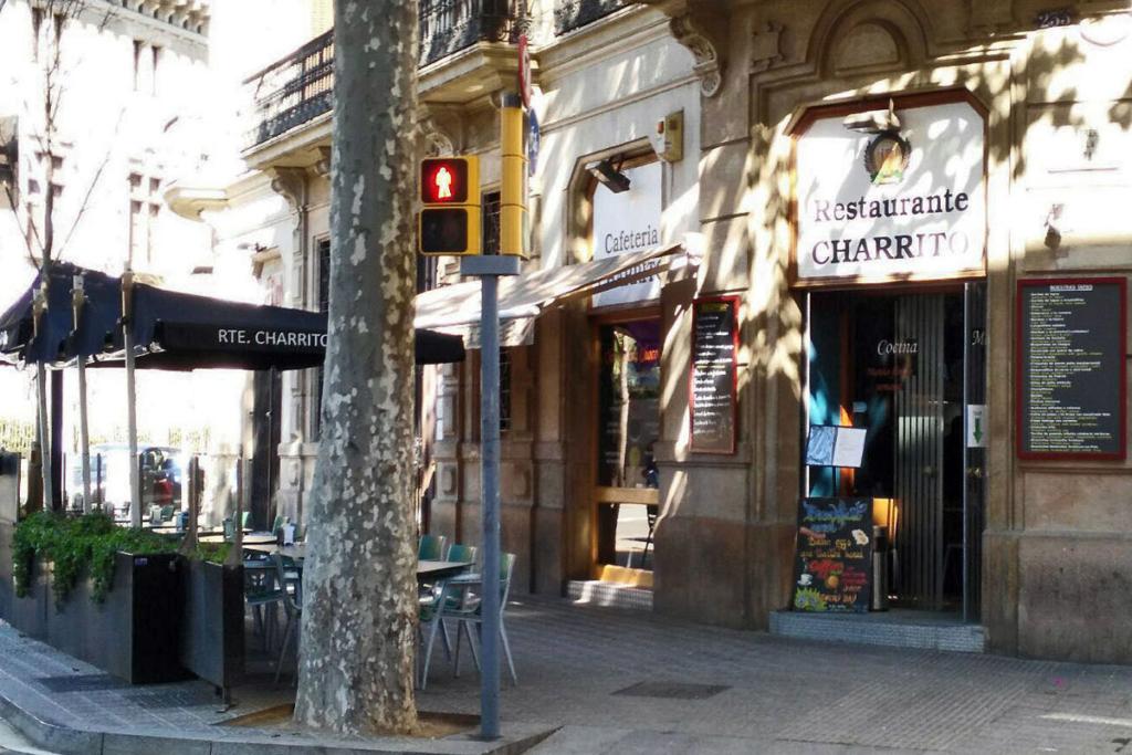 Días de terraza y vinos, Restaurante Charrito, Barcelona