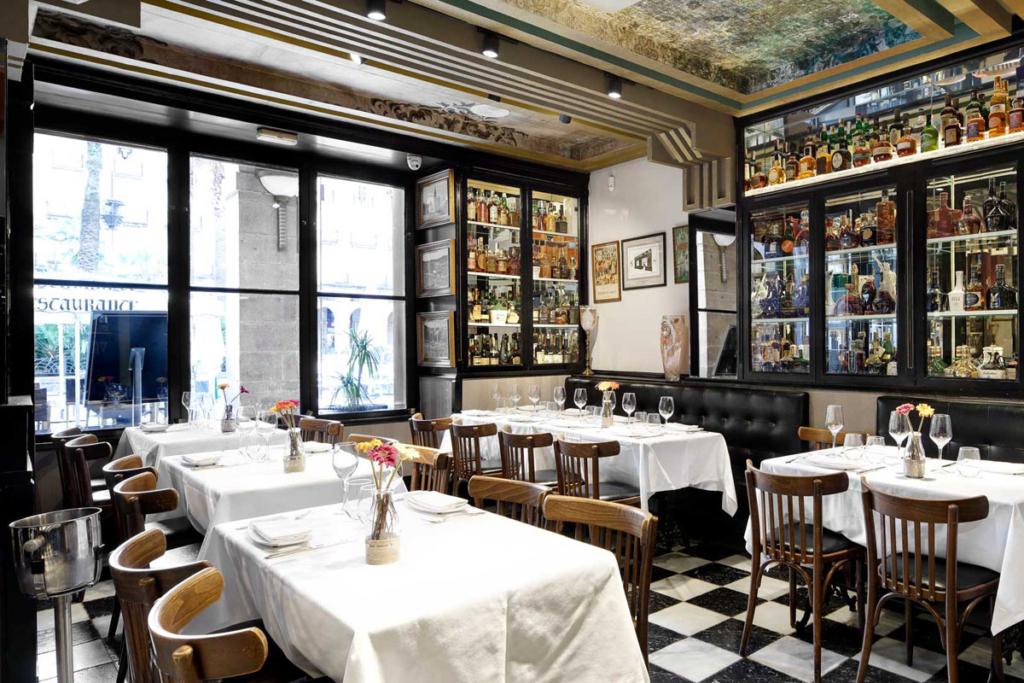 Terrazas de verano en Bilbao, Restaurante Victor Montes