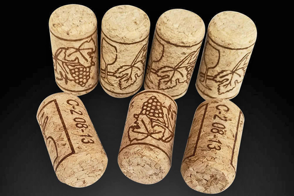 Tipos de tapones botellas de vino, tapón de corcho