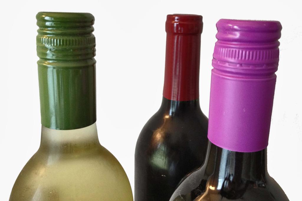 Tipos de tapones botellas de vino, tapón de rosca