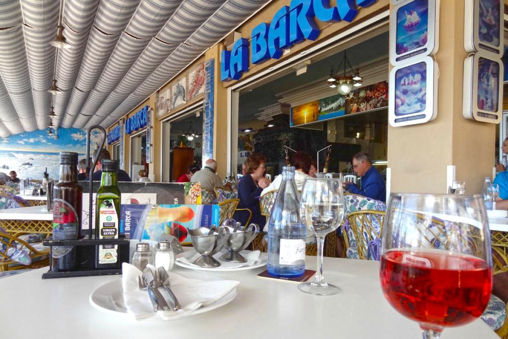 Chiringuitos en Canarias, Restaurante La Barca