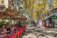 De vinos por Casco Viejo de Barcelona, Las Ramblas