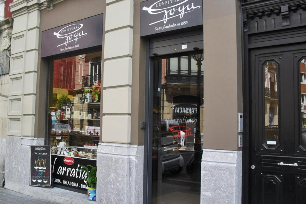 Pastelerias de Bilbao, vino y chocolate, Confituras Goya