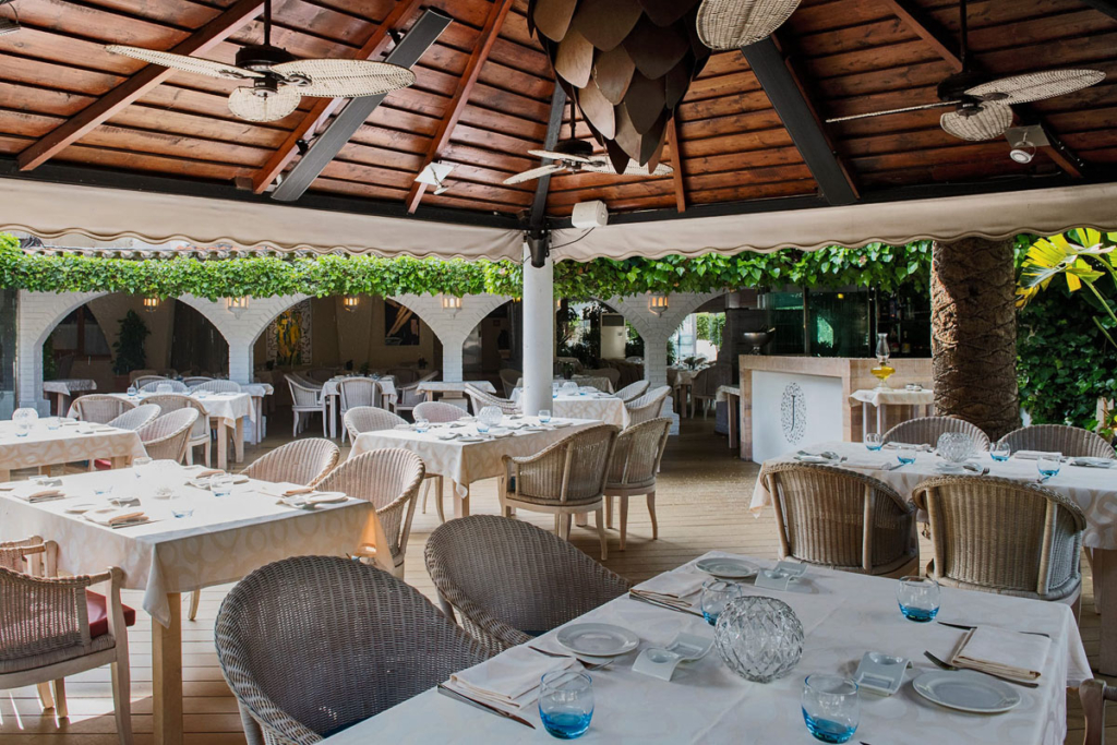 Mallorca, Maca de Castro, Jardin Bistro