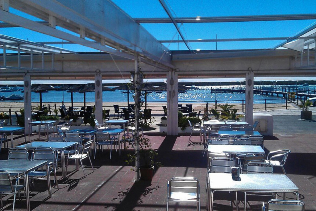 Chiringuitos en Huelva, Restaurante Club Nautico Rio Piedras