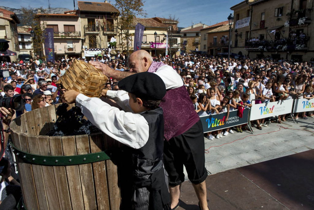 Vendimia Land, Fiestas Vendimia, Baños de Ebro