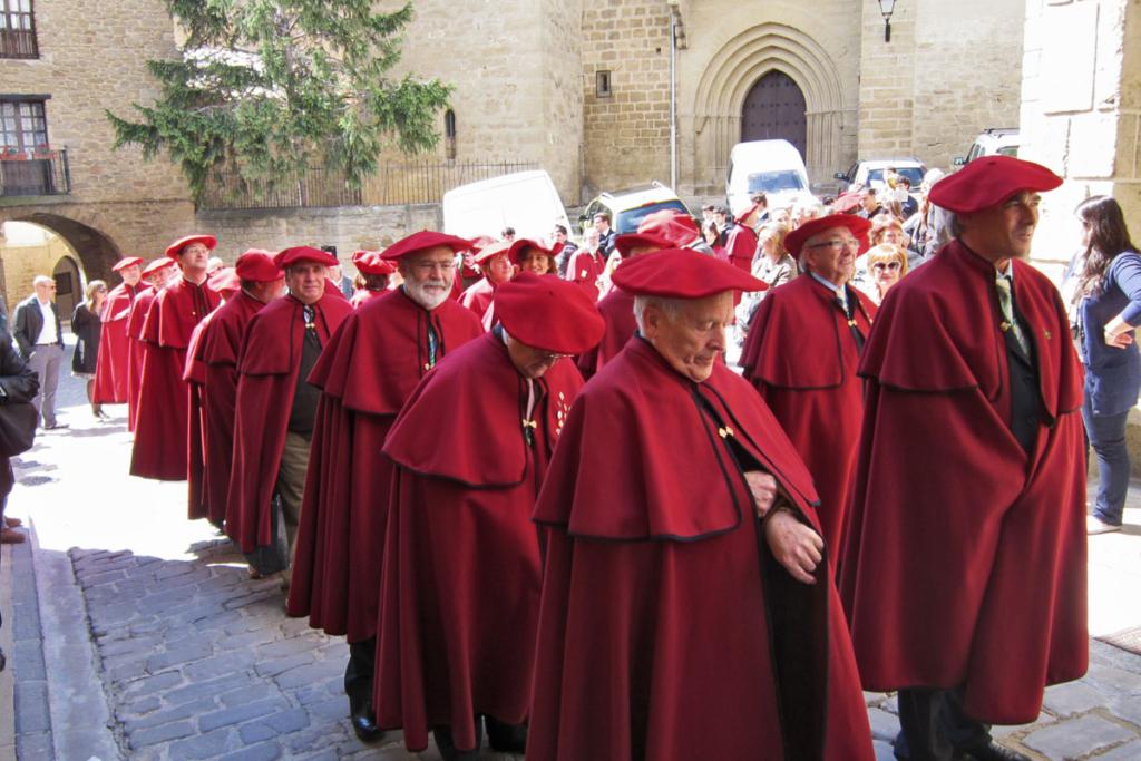 Vendimia Navarra, Cofradía del vino