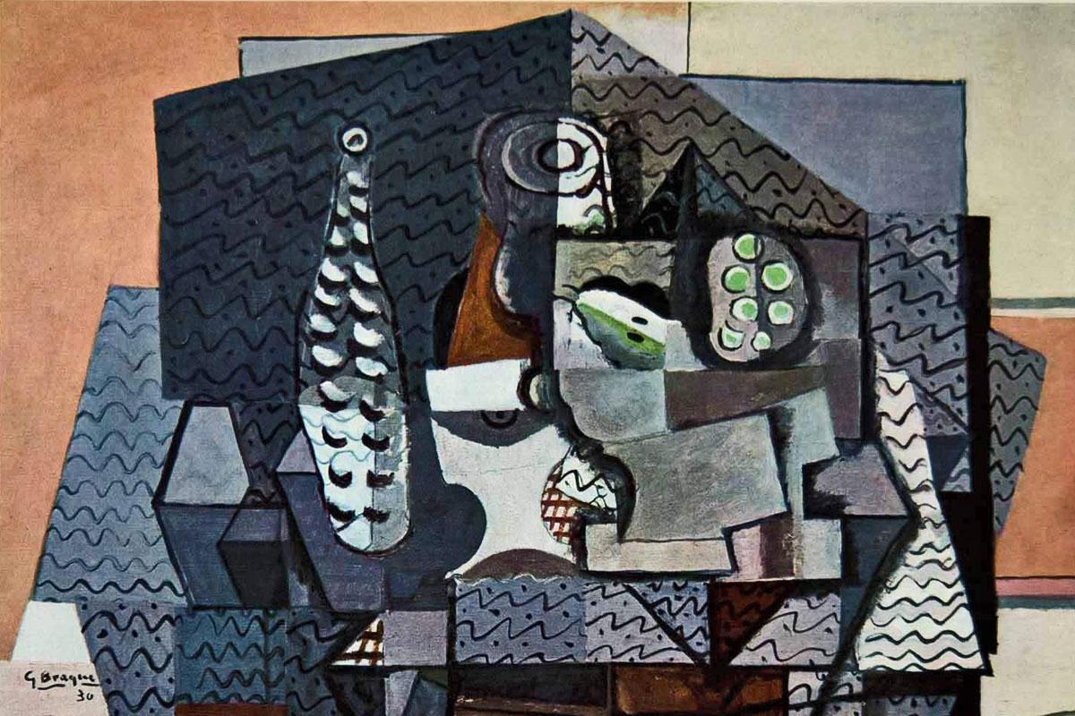 Braque, el otro padre del cubismo enológico