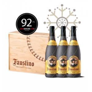 Ideas Faustino para Navidad, regala botella vino Navidad, Botellas vino Faustino I Gran Reserva