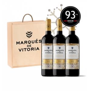 Ideas Faustino para Navidad, Botellas vino Marques de Vitoria Reserva