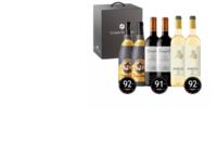 Ideas Faustino para Navidad, Caja vinos Faustino, Campillo y Portia