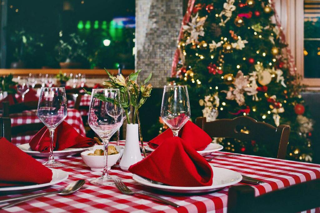 navidad me lo como con buen vino