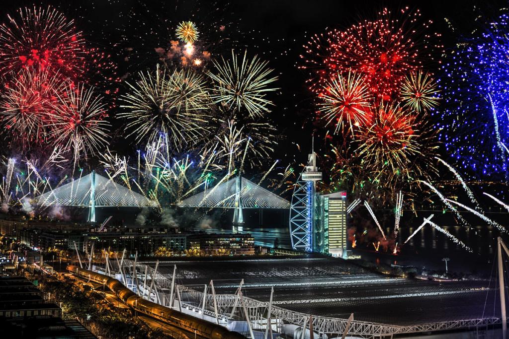 Se acabó el próximo será mejor, nochevieja 2019, celebración, fiesta, Lisboa, Portugal