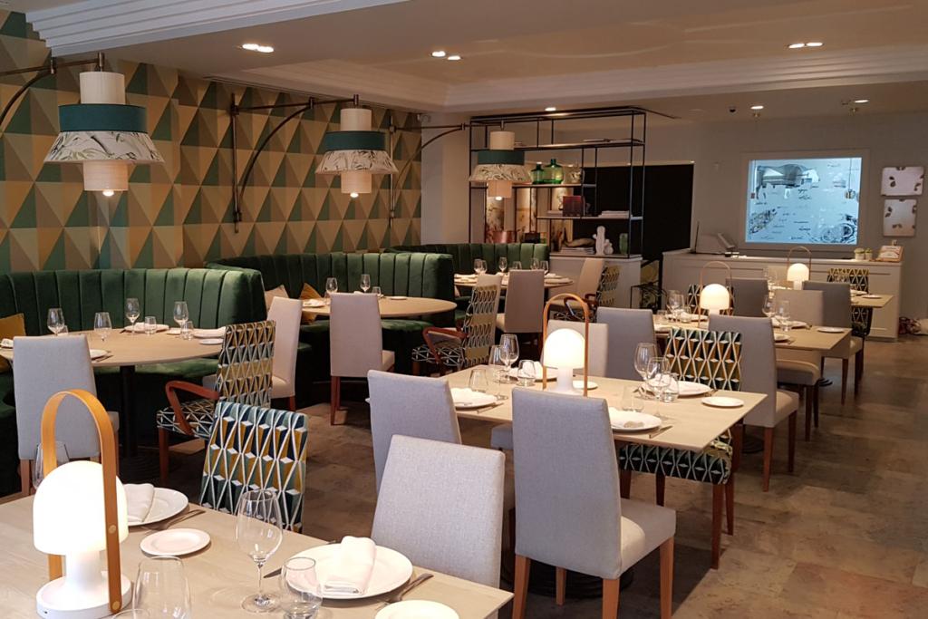 El nuevo camino de la merluza, Restaurante España, Lugo