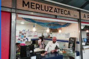 El nuevo camino de la merluza, Merluzateca, Mercado Pontevedra