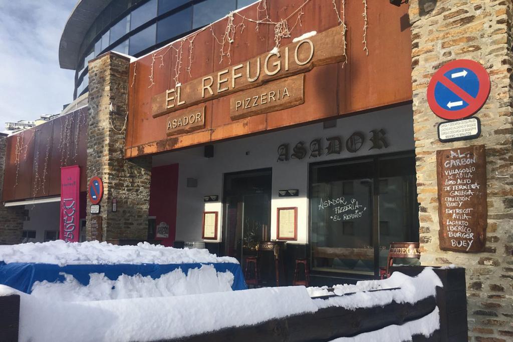 De vinos por Sierra Nevada, El Refugio