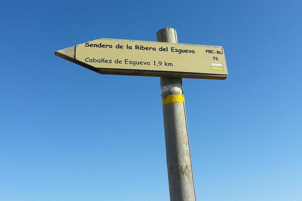 Diez caprichos alrededor de Bodegas Portia, Senderismo Cabañes de Esgueva