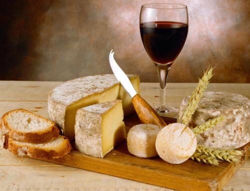 Cuatro quesos para cuatro vinos