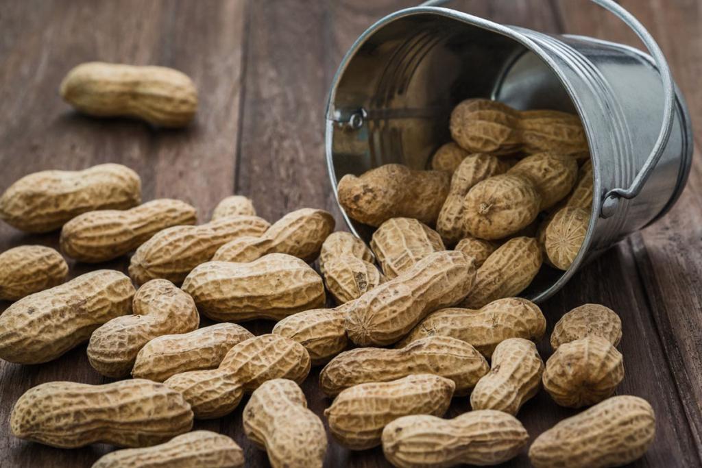 todo depende del fruto seco con que se mire, cacahuetes