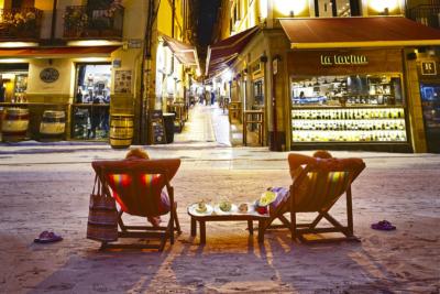 Calle Laurel, alma riojana, ambiente Universal, tapear Logroño, Calle Laurel, Riojan soul, universal environment