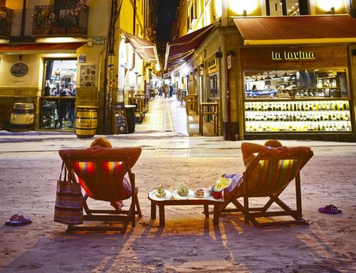 Calle Laurel, alma riojana, ambiente universal