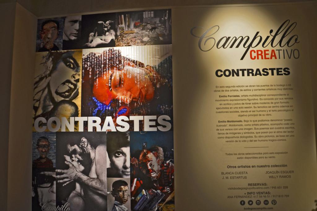 Campillo Caravan Friendly, Bodegas Campillo, Exposción Contrastes
