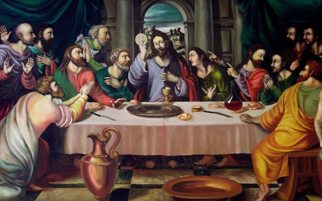 El vino sagrado, Biblia y vino, El vino en la Biblia, Última Cena