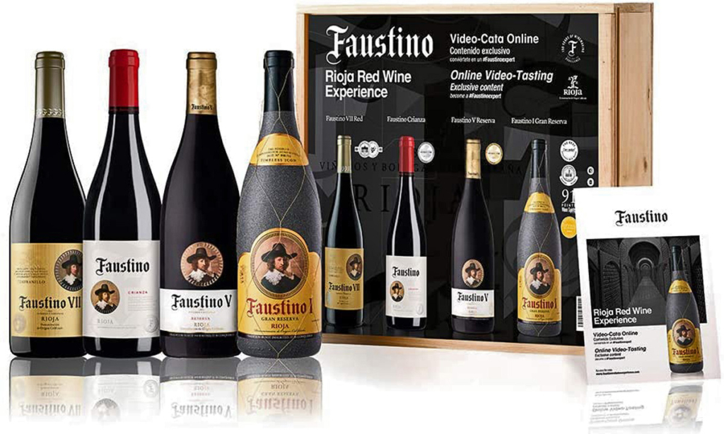 Faustino y Amazon, Pack Faustino Red Wine