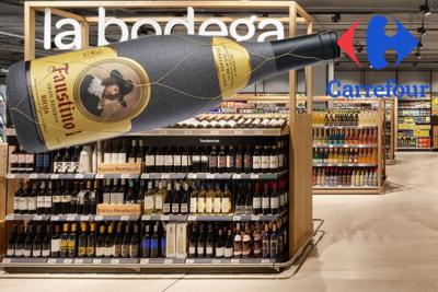 Carrefour, un punto para Faustino